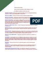 Power Plant Dictionary