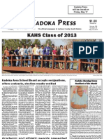 Kadoka Press, May 16, 2013
