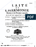 Rameau Traite de l'Harmonie