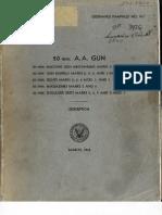 OP 911 - 20 Mm. a.a. GUN Oerlikon-Manual-March