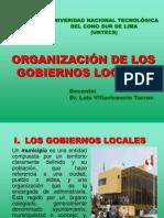 (2) Los Gobiernos Locales