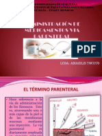 Administracion de Medicamentos Por via Parenteral