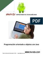 Programación orientada a objetos con Java - 01