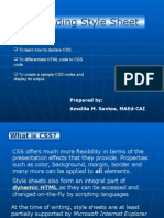 Web Design and CSS