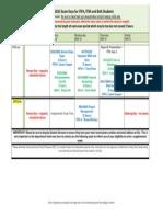 June Exam Period Spring Term 2013