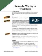 17b - Rewards_ Worthy or Worthless