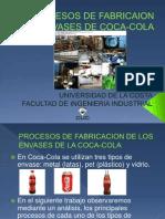 Procesos de Fabricaion Envases de Coca-cola