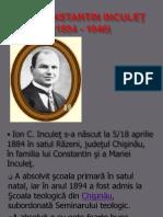Ion Constantin Inculeţ,Pan Halippa,Ion Pelivan