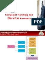 Customer Complaint & Feedback