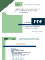 Ensayos de Laboratorios MTC