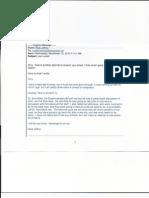 Emails from Neal Jeffrey, associate pastor at Prestonwood Baptist Church
