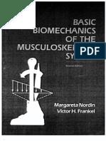 Margareta Nordin Basic Biomechanics Musculoskeletal System