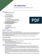 Financial Derivatives-Primer
