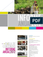 Informe 2012 Fondo Patrimonio Natural