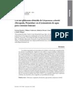9 Uso Del Quitosano Obtenido de Litopenaeus Schmitti en El Tratamiento de Agua Para Consumo Humano 2008