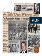 A Ride Down Memory Lane Automotive History of Dearborn