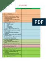 Lista de Cotejo Para Proyectos