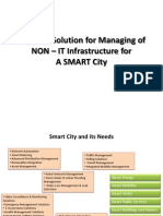 Business Solution for Managing of Non-IT Infrastructure for a SMART City