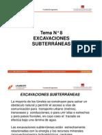 Tema 8_Excavaciones Subterraneas