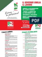 Salva l'Italia - Il Governo umilia il lavoro