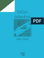 Ömer Demir Bilim Felsefesi (1992) İlk Baskı