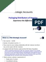 PDA Strategic Account Process - May 2013