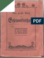 Das Grosse Buch Der Geheimwissenschaften