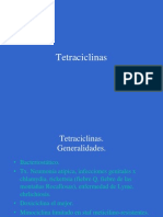 Antibioticos 6. Tetraciclinas