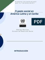 ECLAC RMartinez Gasto Social ALC