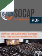 SOCAP13 Partnership Overview