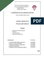 UNIDAD TEMATICA III (Planeación)