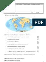 Avaliacao Diagnostica de Historia e Geografia de Portugal