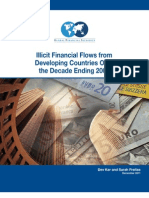 "GFI -  ""Illicit Financial Flows fromDeveloping Countries Overthe Decade Ending 2009"""
