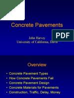 Concrete Pavements