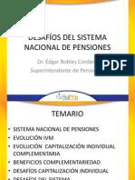 Edgar Robles Desafios Sistema Nacional Pensiones