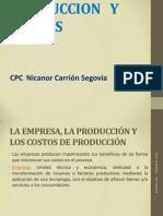 Costos y Produccion