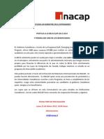 Convocatoria Elap 2013 - 2014 - It