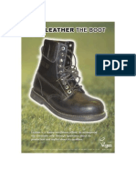 Give leather the boot