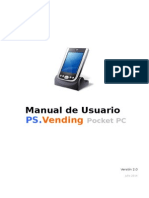 Manual Usuario PS.Vending Pocket PC