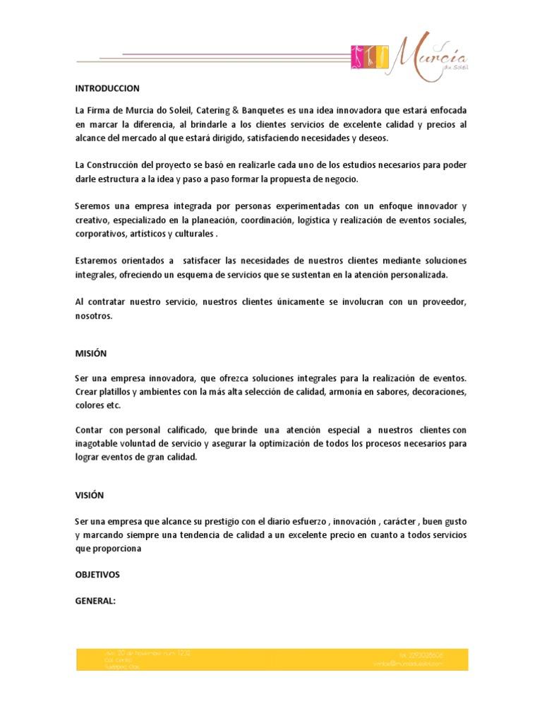 Hermosa Plantilla De Propuesta De Cotización Cresta - Colección De ...