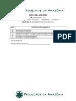 Conteúdo Prográmatico Agronomia (Cerejeiras-RO) - 5º Período (Plantas Medicinais e Aromáticas) - Profº. Fábio
