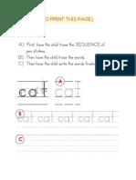 Book 1 Handwriting