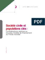 Société civile et populations clés