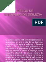 Modelos de Intervencion Dislexia