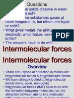 Intermolecular Forces 3