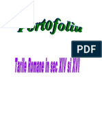 Tarile Romane in Sec XIV XVI