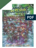 Chansons Francaises Du XXeme Siecle - Volume 1