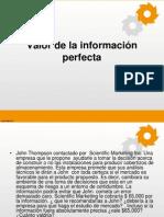 Valor de la información perfecta.pptx