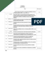 Normativ Pentru Proiectarea Si Executarea Instalatiilor Electrice Cu Tensiuni Pana La 1000 v c.a Si 1500 v c.c