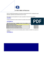 QFDLat Matriz de Relaciones